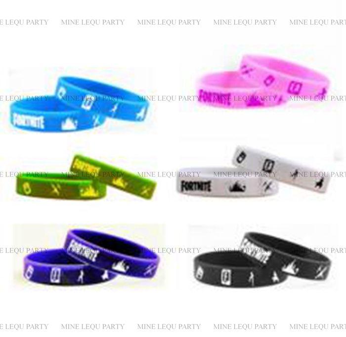 Acheter Nouveau Bande Dessinée Jeu FORTNITE Bracelets Enfants Fête D\u0027 anniversaire Faveurs Bracelet Jouets Partie Décoration Fournitures Faveurs  Enfants