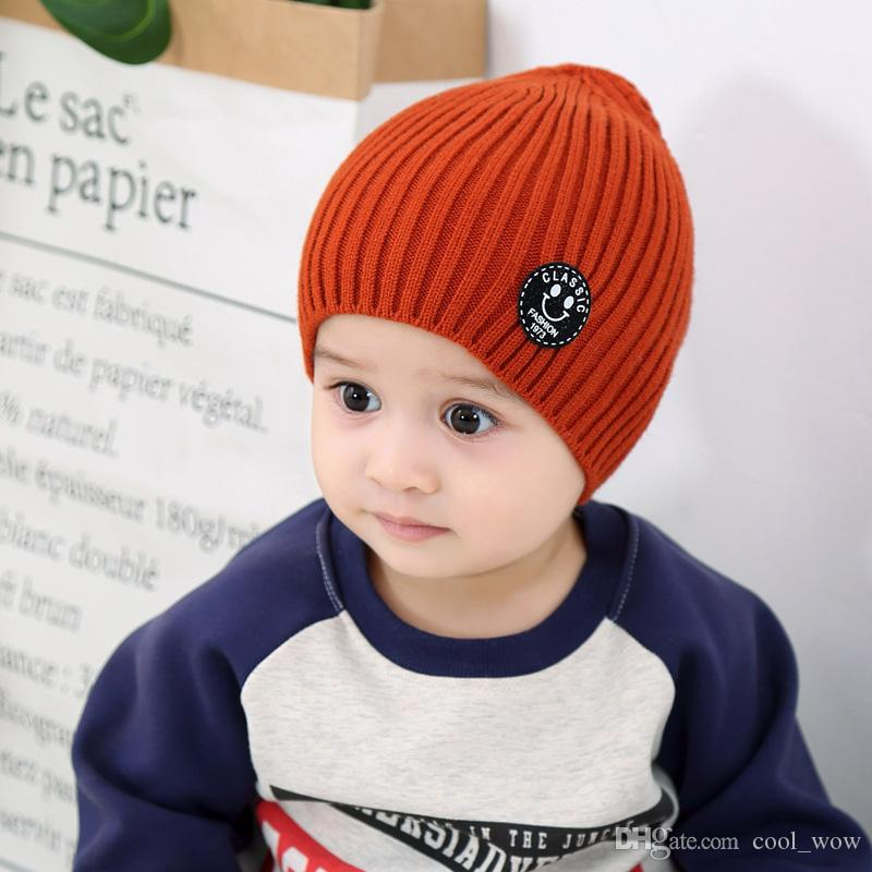 Useful Infant Baby Girls Boys Cute Antlers Knitted Hat Kids Beanies Cartoon Newborn Childrens Cap Hats & Caps