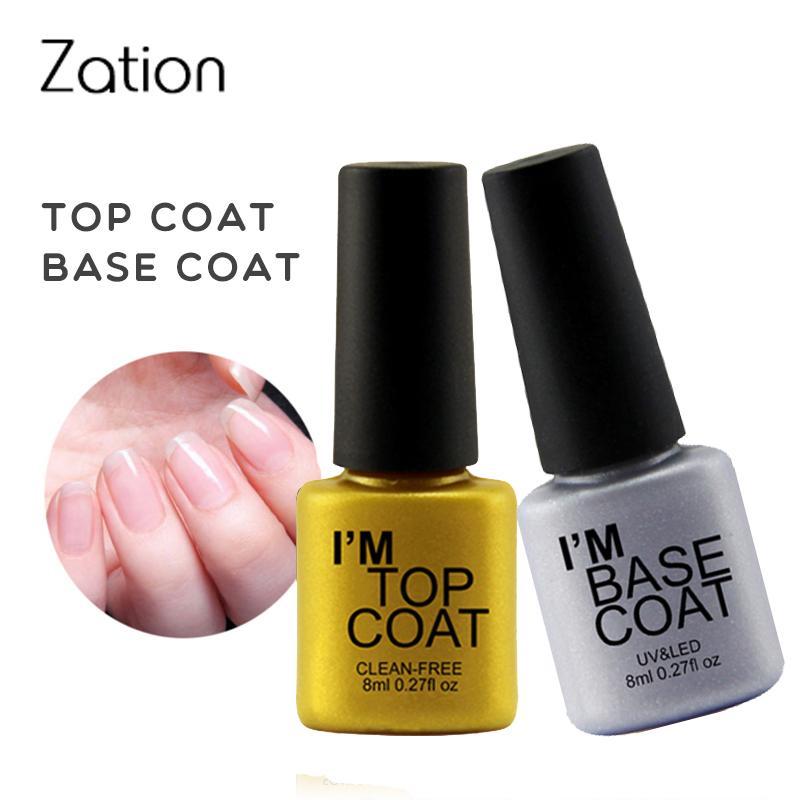 Zation Transparent Color Nail Gel Polish Quality Gel Lacquer Best ...