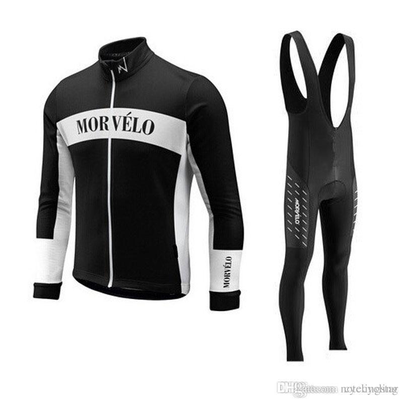 7d3994962 2017 New Team Cycling Jersey Morvelo Long Sleeve Bike Shirts+mtb ...