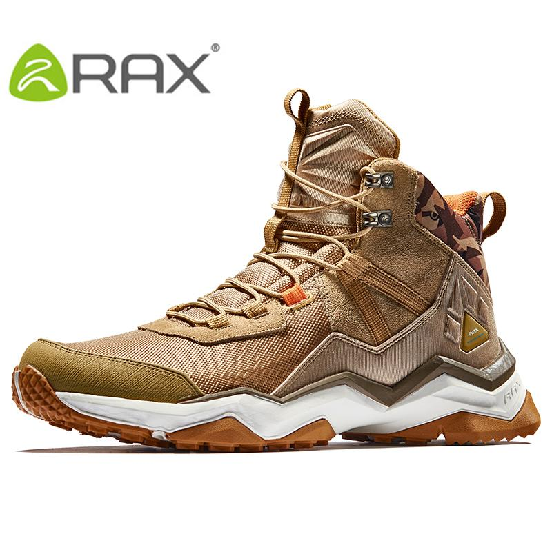 65b890c8caf RAX Hiking Boots Men Waterproof Outdoor Sports Sneakers for Men Trekking  Shoes Lightweight Breathable Multi-terrian Sports Shoes