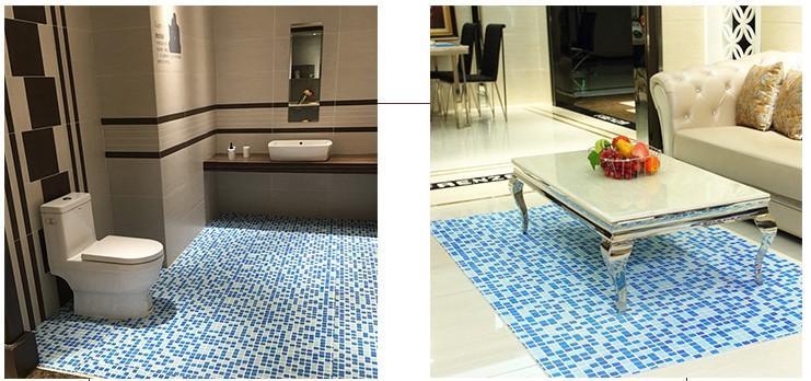 Acheter Tapis De Cuisine Mosaique Pvc Evide Eau Salle De Bains En