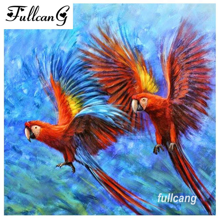 Satın Al Fullcang Diy 5d Elmas Boyama Uçan Kuşlar Elmas Mozaik