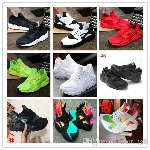 1efcf5b5f453a1 2018 Top Fashion Air Huarache Ultra Running Shoes Huaraches Rainbow ...