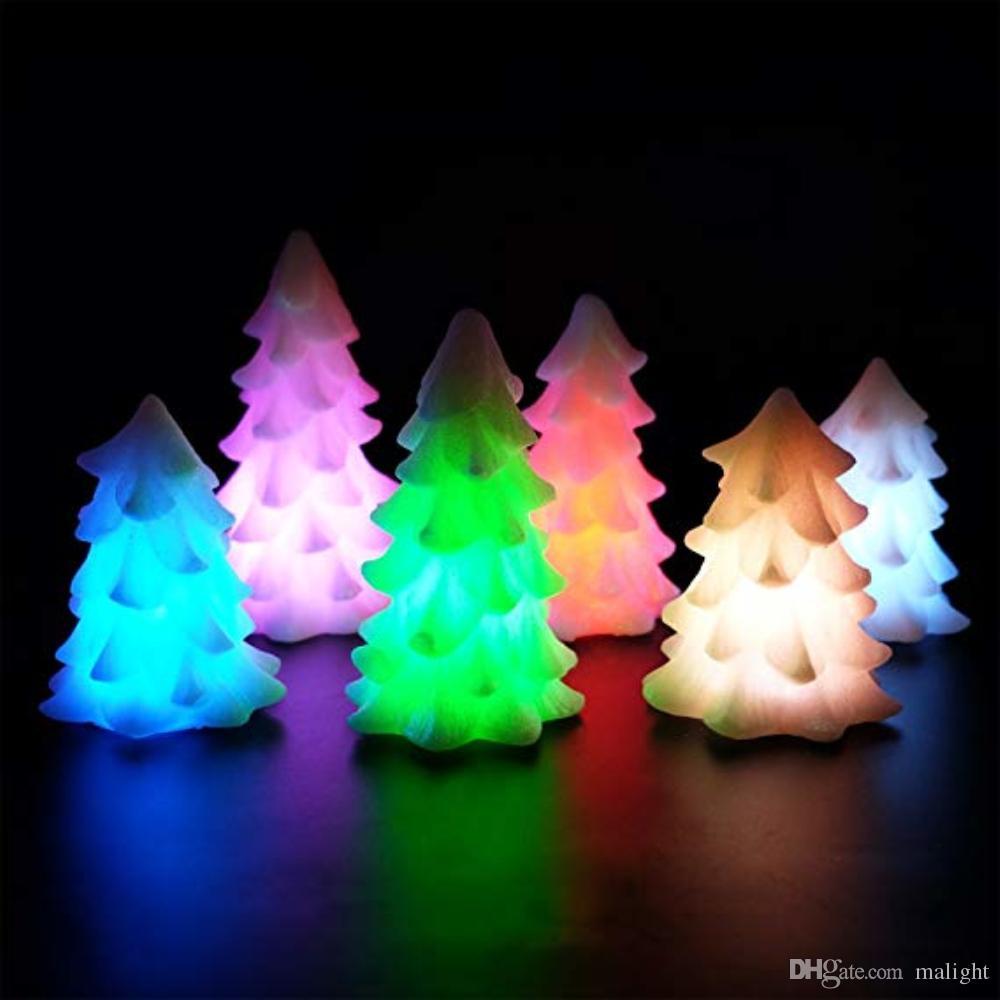 Compre Artesania De Velas De Arbol De Navidad Artesanal Led Noche De - Arbol-de-navidad-artesanal