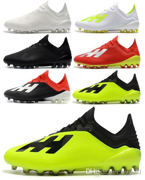8fe35c7e1 2019 2018 New Style Mens Soccer Shoes X 18.1 AG Low Ankle Soccer Cleats  Speedmesh X18.1 AG Messi Speed Mesh Outdoor Football Boots From Ggg_01, ...