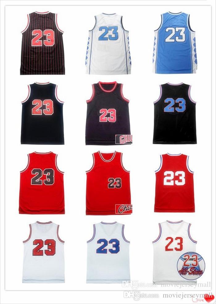 NCAA North Carolina Tar Heels MJ Basketball Jerseys 2003 Retro ... d47dd1db0