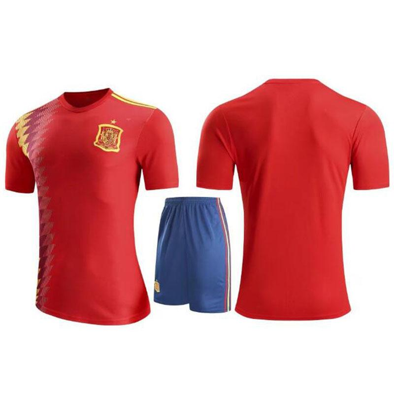 f9783705ab90 2019 Soccer Jersey Kids Casual Fashion Designer Soccer Tracksuits Children Soccer  Shirts Uniform Jersey+Shorts Child Sets From Nikeapparel