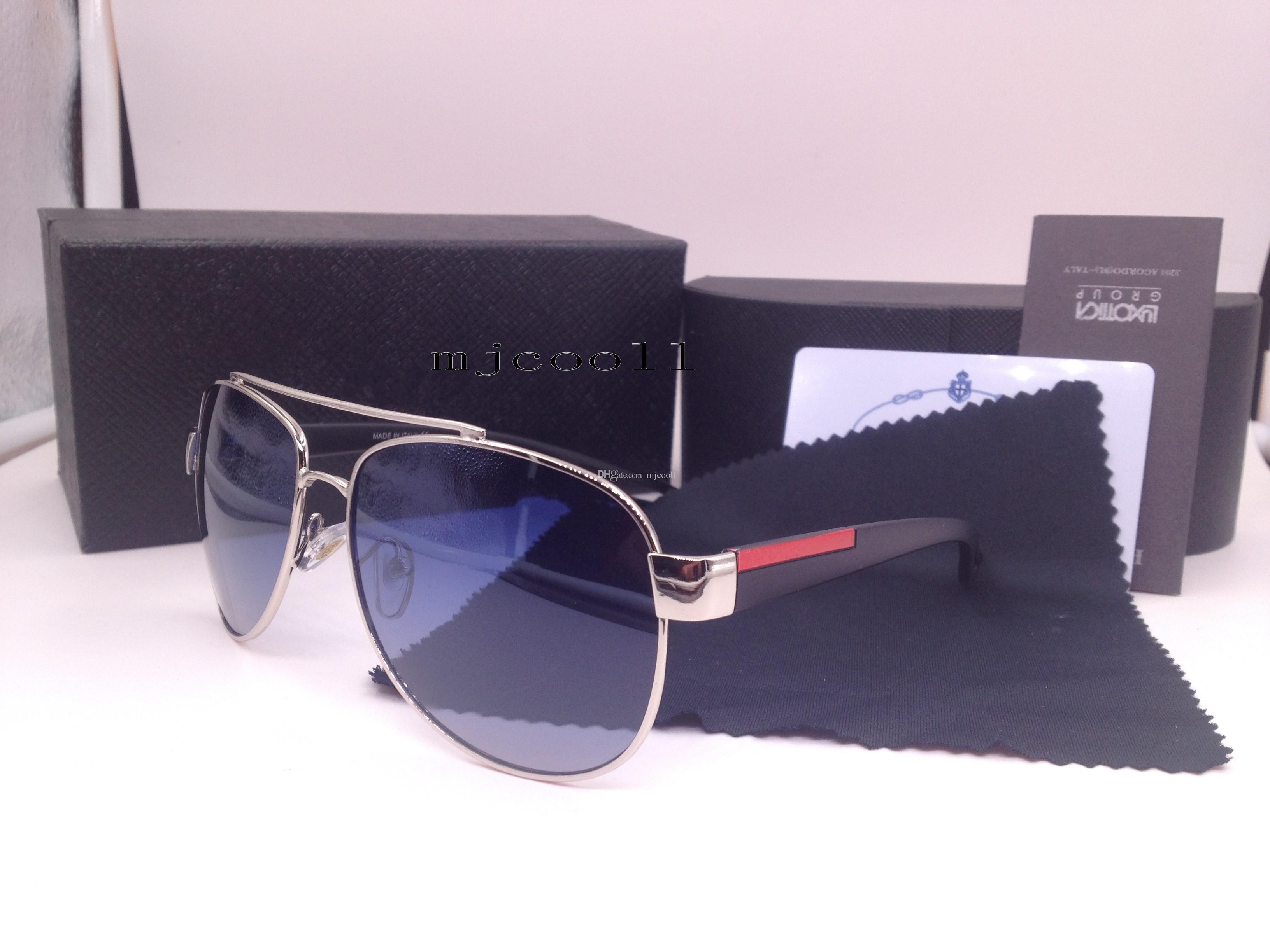 3f88dbaf35 Compre Gafas De Sol De Moda De Calidad Superior 2018 Nuevos Hombres Gafas  De Sol P550s Con La Caja Original A $16.25 Del Mjcooll | DHgate.Com