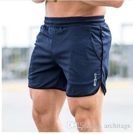 Mens Shorts Summer Running Sport Shorts Fitness Body Building