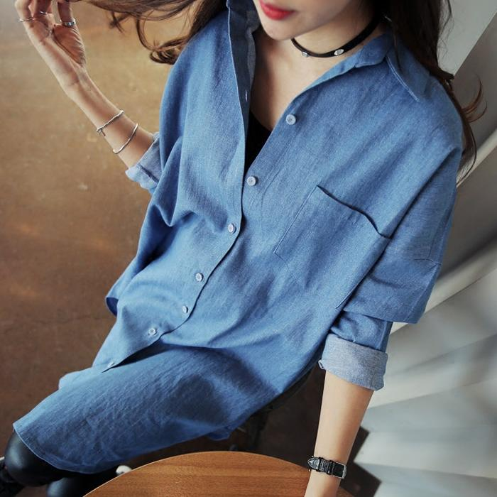 2019 Pengpious Maternity New Long Openings Cowboy Shirts For Nursing  Pregnant Woman Long Sleeved Lactation Denim Blouses Mother Coat From  Namenew 36609e713