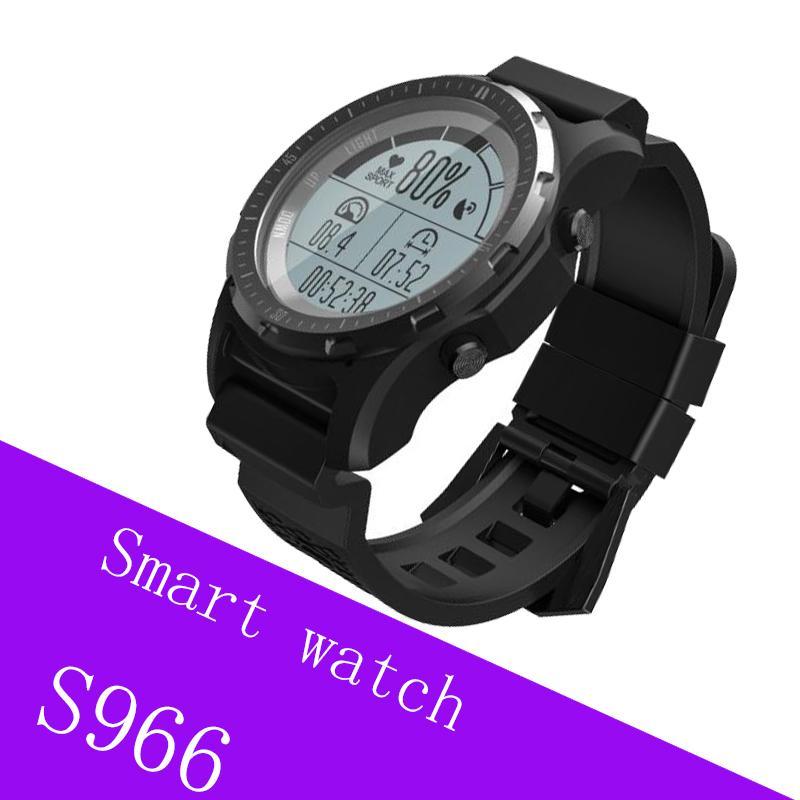 a9a6b048a Relojes Marcas Reloj Inteligente GPS Hombre S966 SmartWatch Monitor De  Frecuencia Cardíaca Reloj Deportivo Multi Sport Reloj Inteligente Fitness  Tracker ...