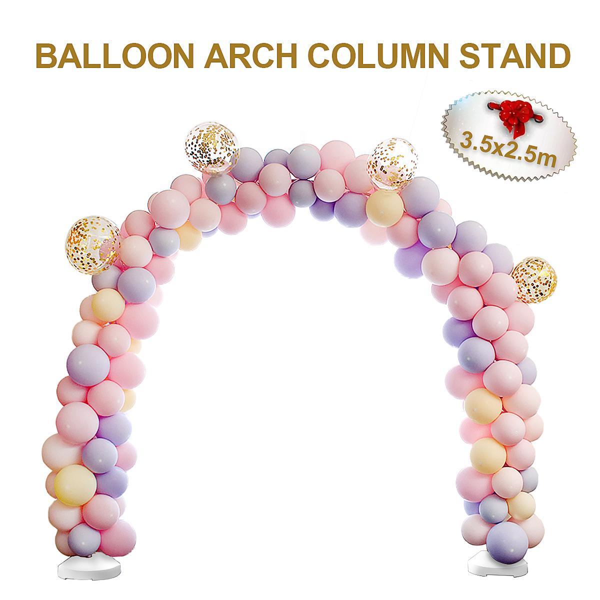 Large DIY Balloon Arch Frame Kit Water Base Stand Display Column ...