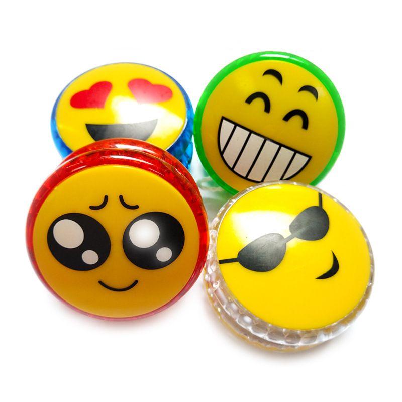 Großhandel Emoji Smiley Yoyo Led Leuchtende Leuchtende Spielzeug ...