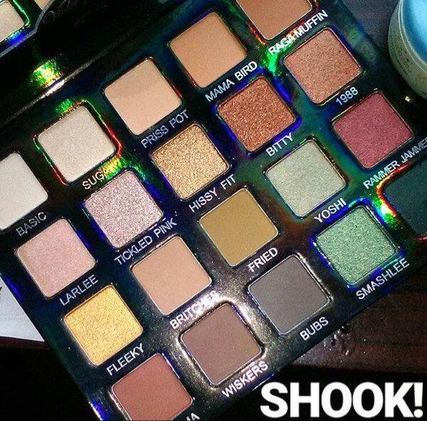 Violet Voss Laura Lee Paleta de sombras de ojos Maquillaje de edición limitada de es Color de la tierra Paleta de sombras de ojos.