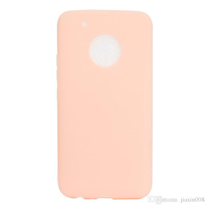 Candy Color Case For Motorola Moto G5 Plus Cover Soft TPU Ultrathin Mobie  Phone Cases Capinha For Moto G5 Plus