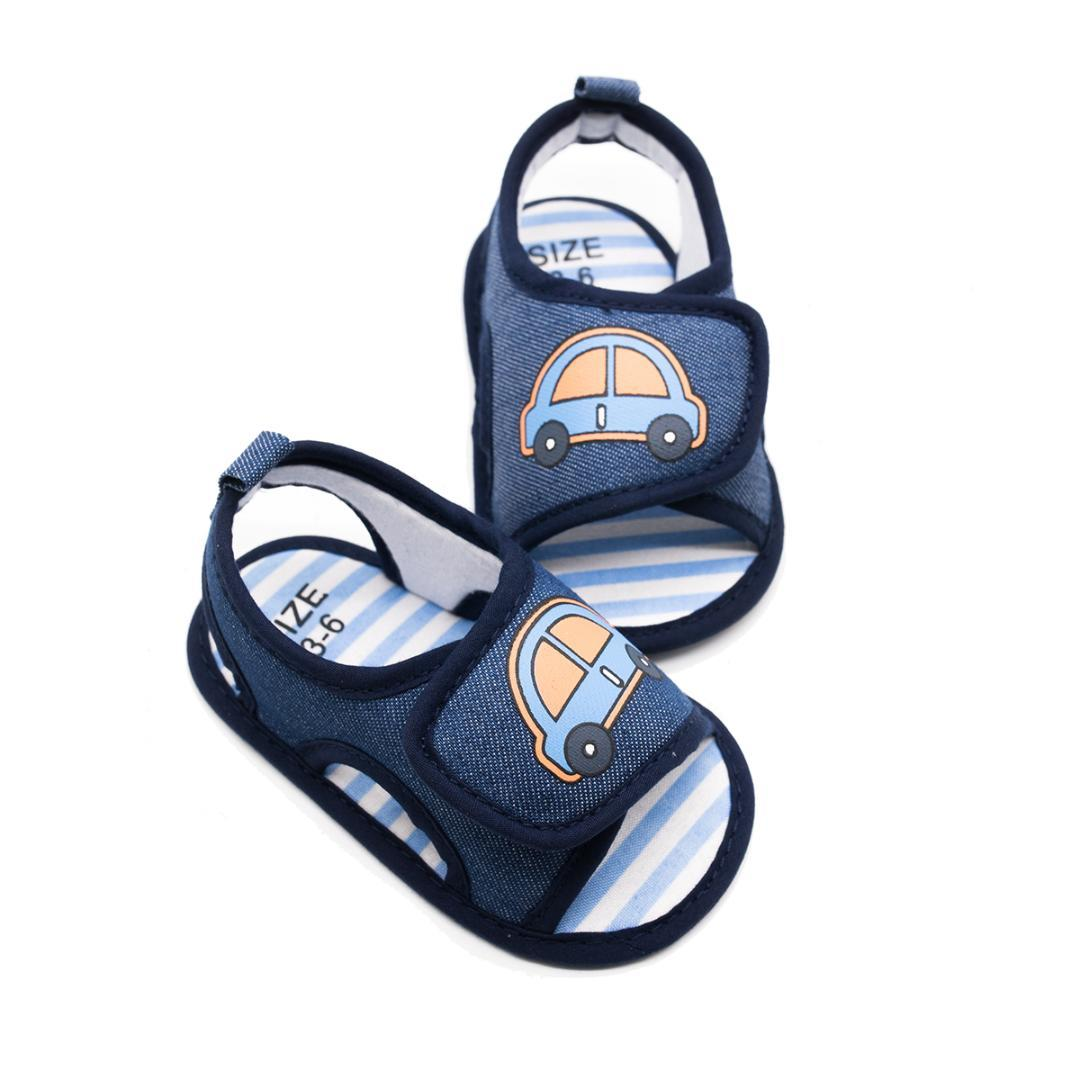 fb7ae5767 Compre Zapatos Para Bebés Bebés Lienzo Arco Zapatos De Arco Transpirable  Niños Cómodos Bebé Niño Pequeño Patrón De Coche 0 12 A  35.47 Del Coolhi