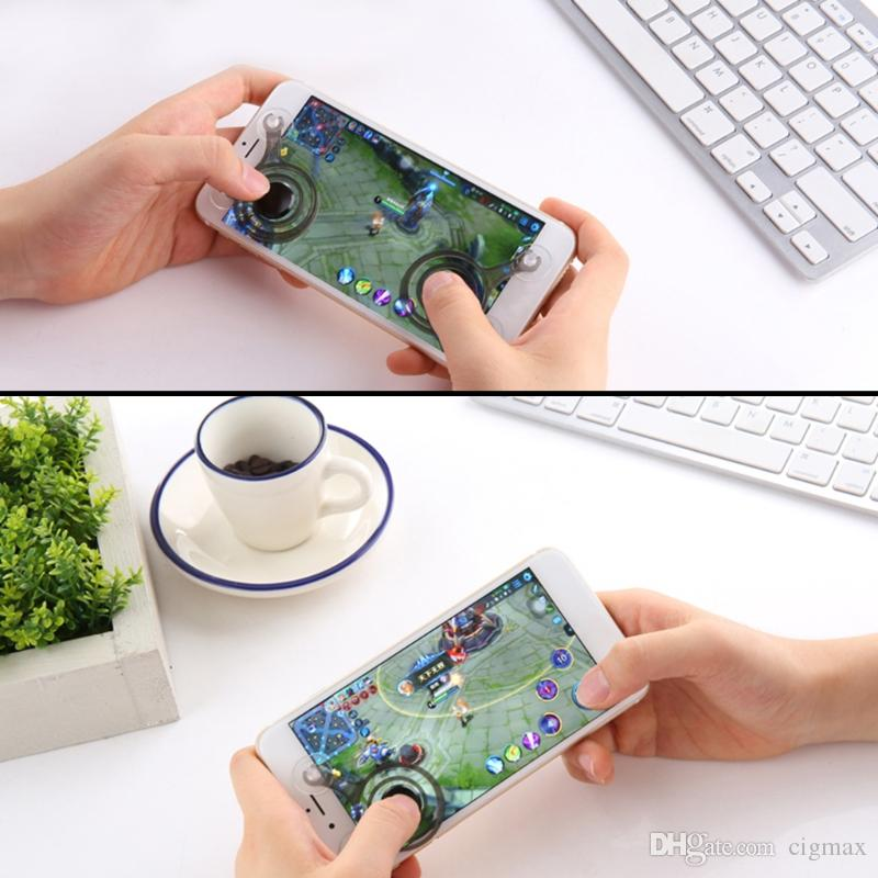 2 Stücke Joystick Joypad Gamepad Touchscreen Controller Spiel Spielen Für Telefon Ipads Unterhaltungselektronik