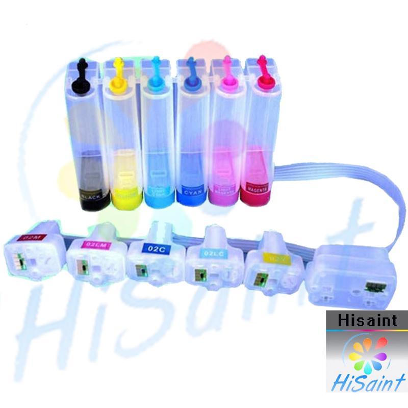 hisaint 2018 New 1 Set For 177 CISS Empty For Photosmart  3213/3313/8253/C5183/C6183/C6283/C7183/C7283/C8183 Printer