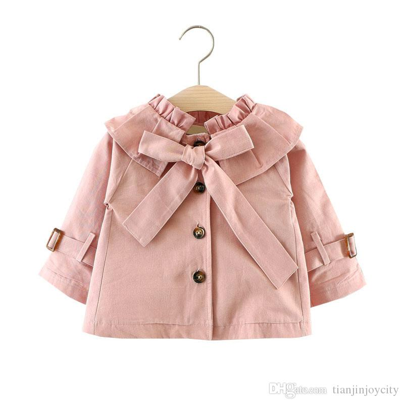 2766001b4146 Fashion Girls Trench Coat Spring Autumn Children Clothing Kids ...