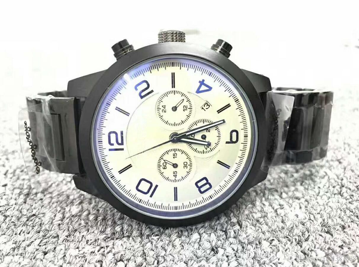 montre jour date top marque tourbillon montres-bracelets automatiques pour hommes cadeau A3