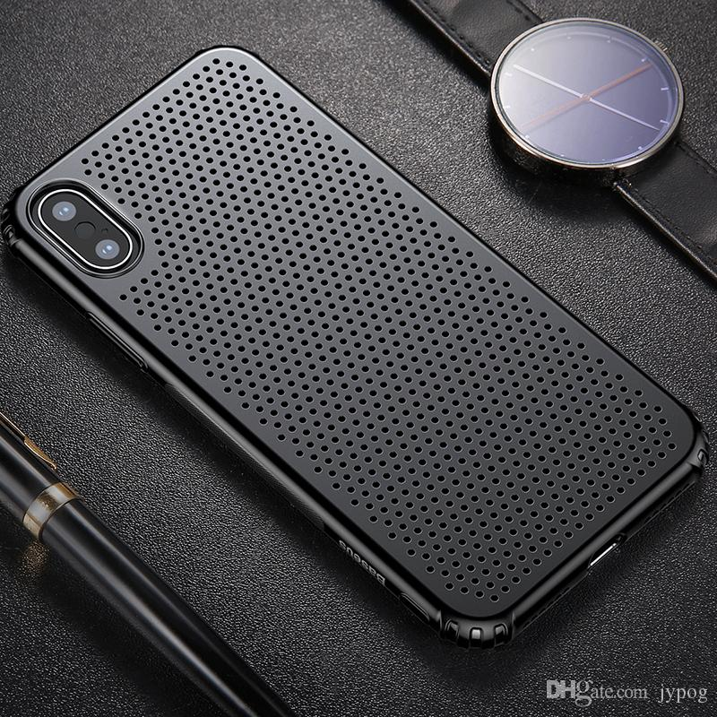 Baseus For iPhone X Case DefenderSmall Hole Case High Impact Heavy Duty Hard Rugged Rubber Case Cover for iphone X