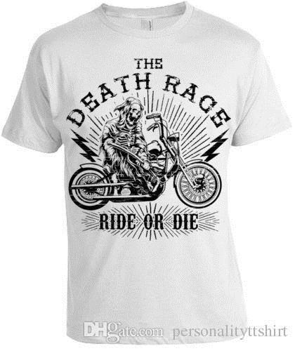 Top Ten Weihnachtsessen.The Death Rennen T Shirt Herren Damen Weihnachten Weihnachtsgeschenk Biker