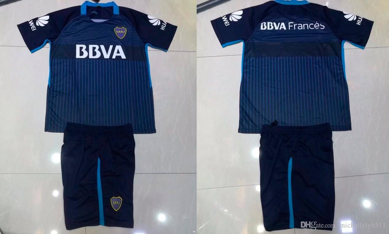 2018 2018 Boca Juniors Blue Soccer Uniforms Men'S Short