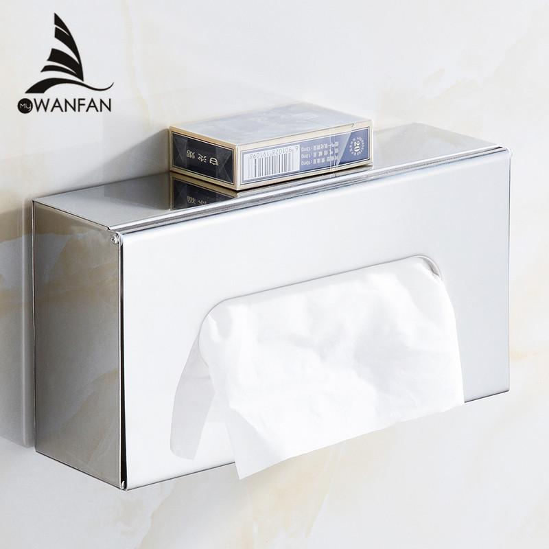 2018 Paper Holder Stainless Steel Toilet Tissue Pull Bo Bath Room Desktop Srorage Organizers Phone Stand Wc Wf 18031 From Yanlun9