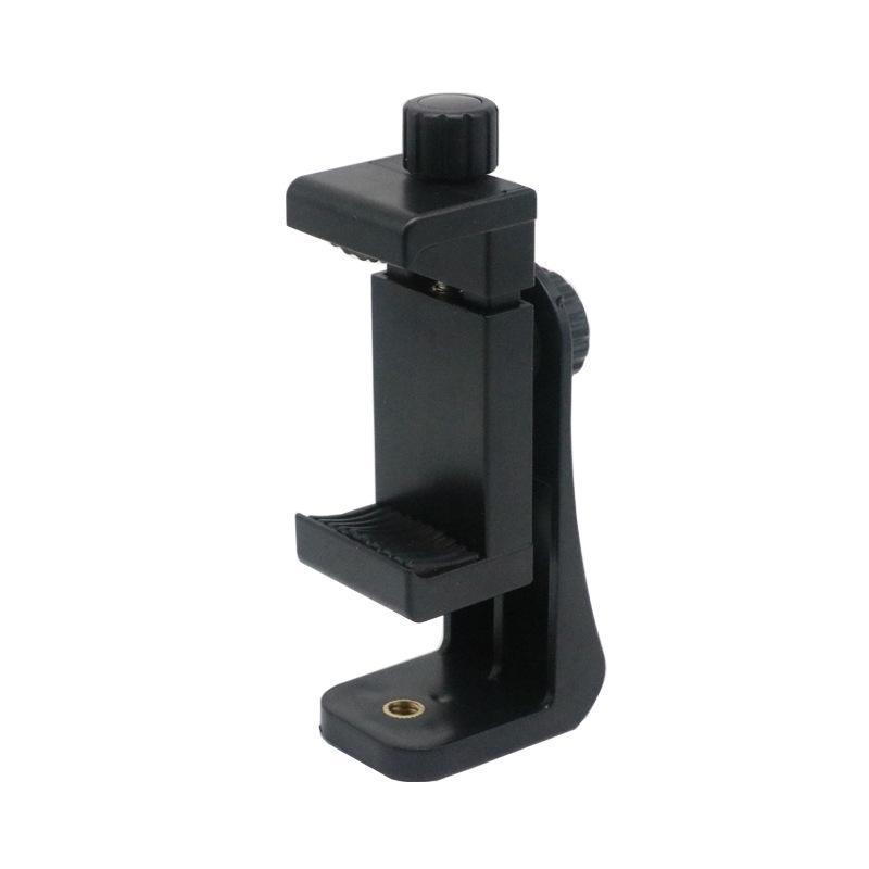 Soporte para teléfono con soporte vertical para montaje en trípode de teléfono inteligente para adaptador de teléfono celular de 5.5 pulgadas a 6.8 pulgadas para iPhone 8 iPhone X