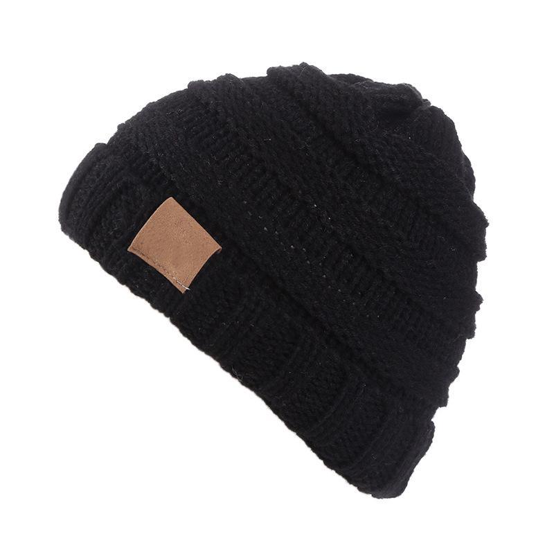 Quality In 2019 Toddler Kids Girl Boy Baby Winter Warm Crochet Knit Hat Children Ski Beanie Cap Excellent