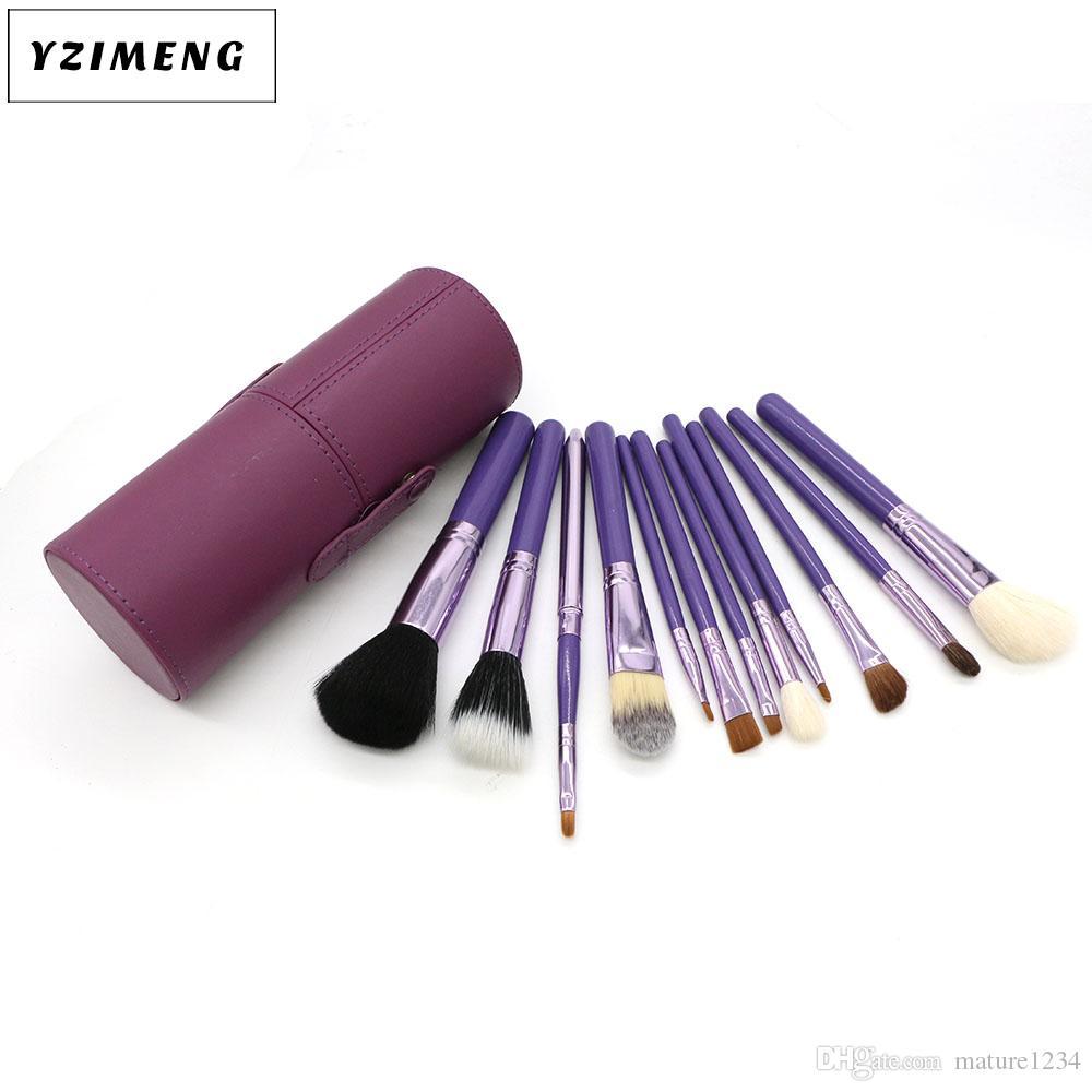 Usine Direct Pinceau De Maquillage Chaud 12 pièces Kit Pinceau De Maquillage Professionnel Livraison gratuite