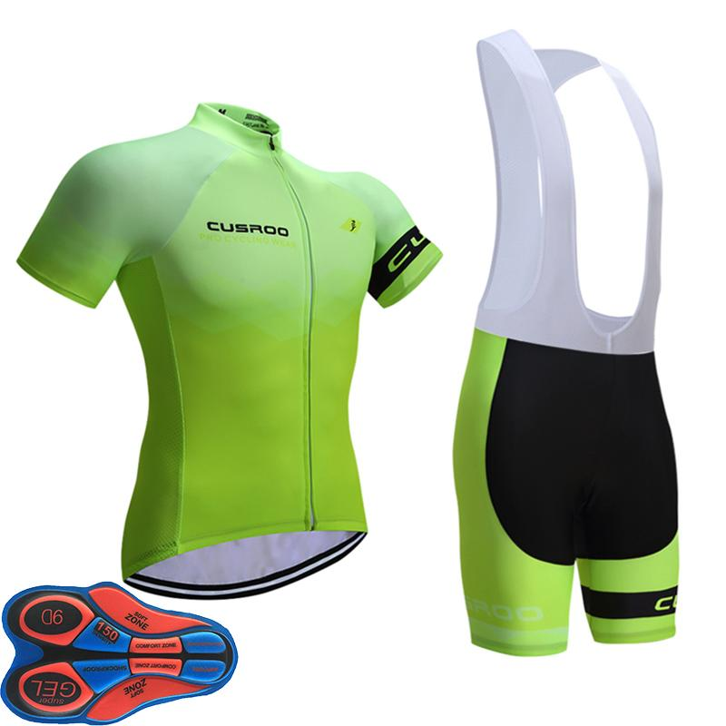 Pro Team Fluorescent Color Bike Jerseys Cycling Jersey Sets Ropa ... 4301eef4e