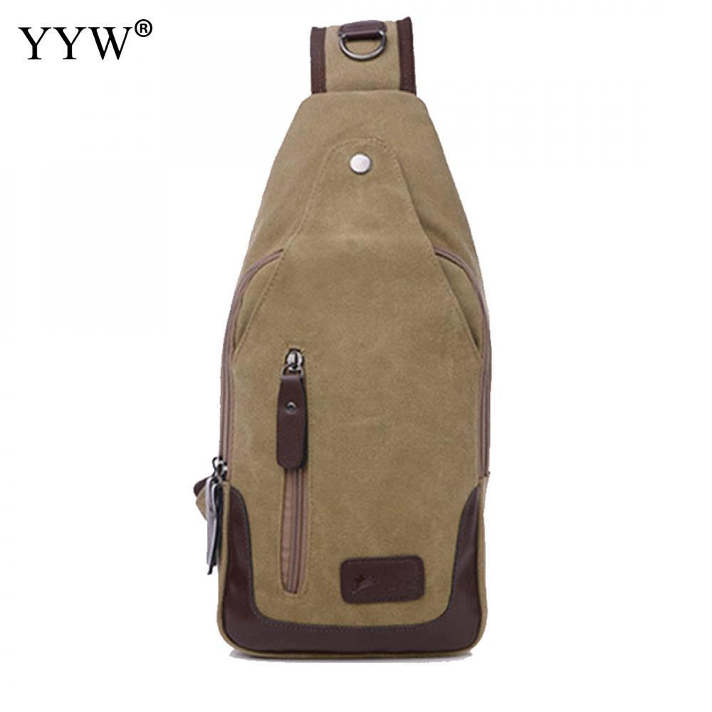 Canvas Men Sling Bag Fashion Crossbody Bags Male In Bulk Soft Men Messenger  Bag Casual Chest Single Gothic Anti Theft Waist Packs Cheap Waist Packs  Canvas ... 2b077e5dc5