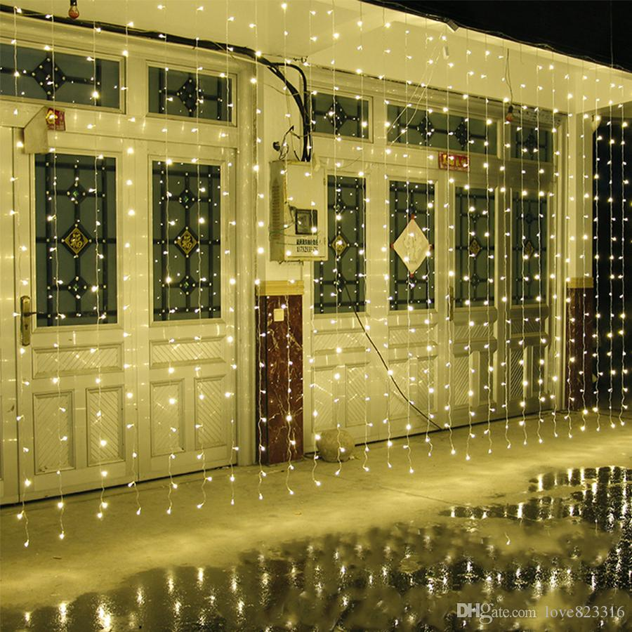 10m X 5m 1600 Led Home Outdoor Holiday Christmas Decorative Wedding