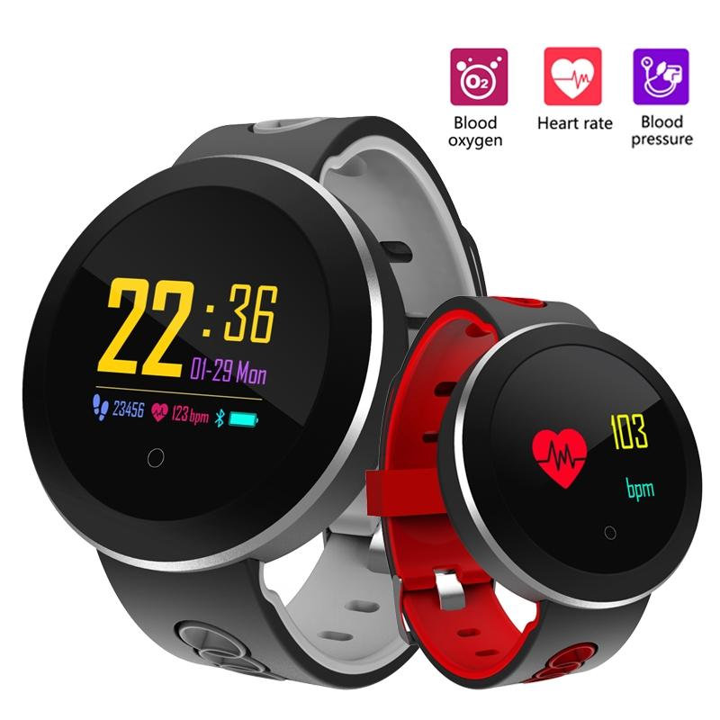 Men's Watches Humor Smart Ip68 Braceletwaterproof Pedometer Heart Rate Blood Oxygen Monitor Fitness Tracker Smart Wristband Multi Sport Smart Band Digital Watches