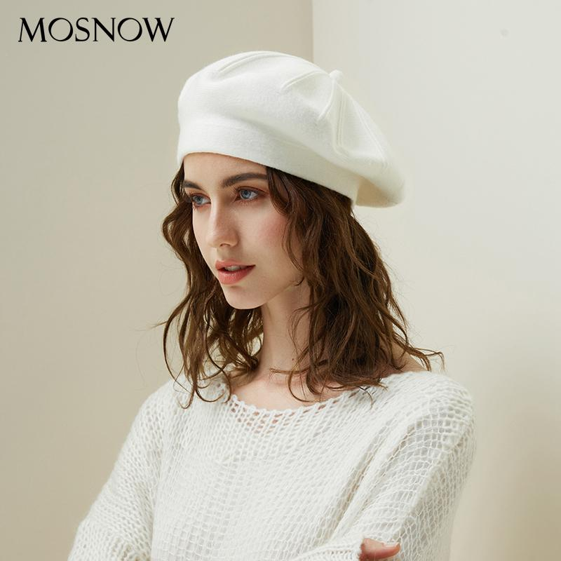 3a67c9965cc Drop Shipping Beret Female Wool Knitted Hats 2018 New Brand Stylish Winter  Warm Beanie Women Painter Bonnet Hats For Girl Berets UK 2019 From  Zaonoodle