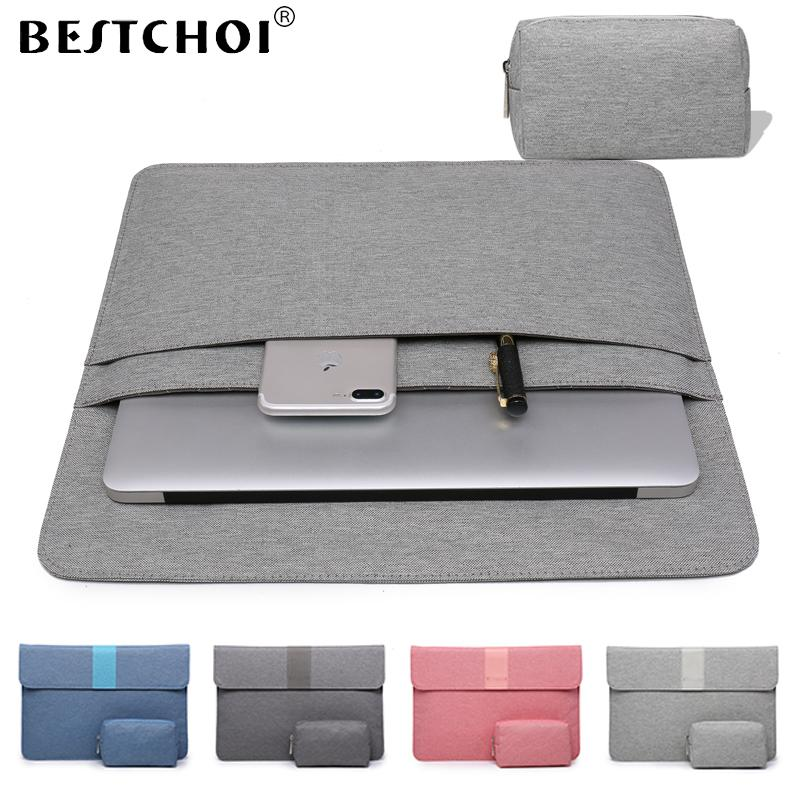 finest selection 09264 8f98a Laptop Bag 13 15 inch for Macbook Retina Pro Touchbar 13 11 12 13.3 inch  Laptop Sleeve for macbook air case Women Case
