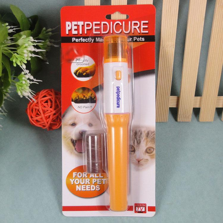 Portátil Electric Nail Trimmer Clipper prego Grinder para cães, gatos e outros pequenos médios grandes animais de estimação sem baterias