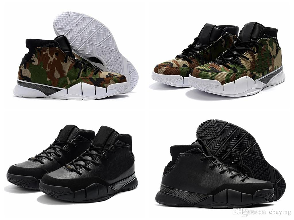 f9d940906432 2018 New Kobe 1 Protro Mamba Day Undefeated KB 1 Camo Mens Basketball Shoes  Sports for Men ZK1 Black Kobe Bryant Trainers Sneakers Basket Ball Shoes  Kobe ...