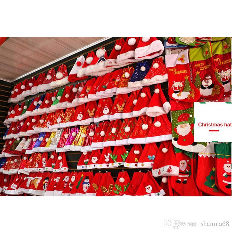 Babbo Natale Immagini Divertenti.Acquista 54 Style Party Babbo Natale Cappelli Divertenti Pikachu