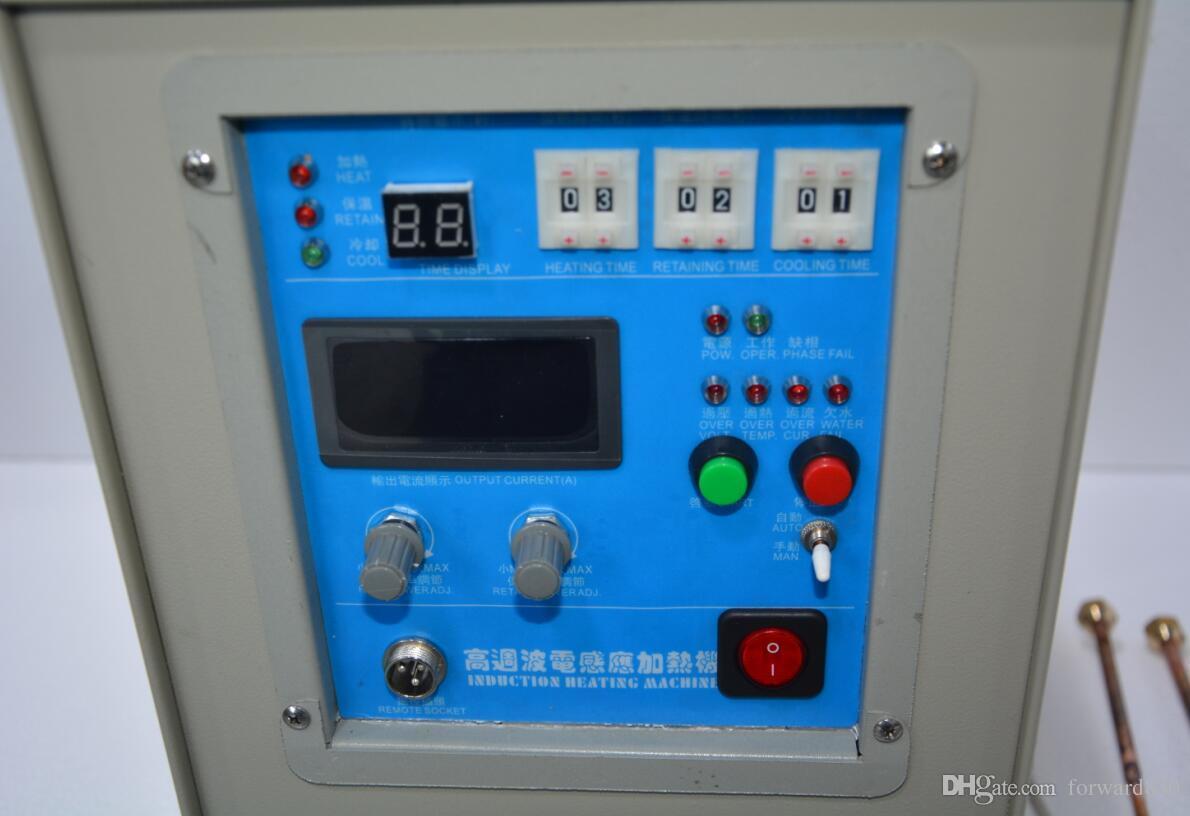 Four de chauffage à induction à haute fréquence 25KW 30-80KHz LH-25A