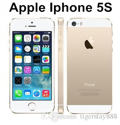 Apple Iphone 5S Phone Original Unlocked 5S Support Fingerprint iOS 1GB RAM  16GB ROM refurbished phone