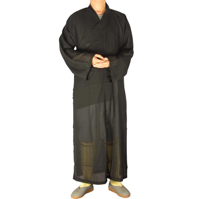 Robe Kleidung Lohan Shaolin Kostüm Schwarzer Sommer SGzqVMUp