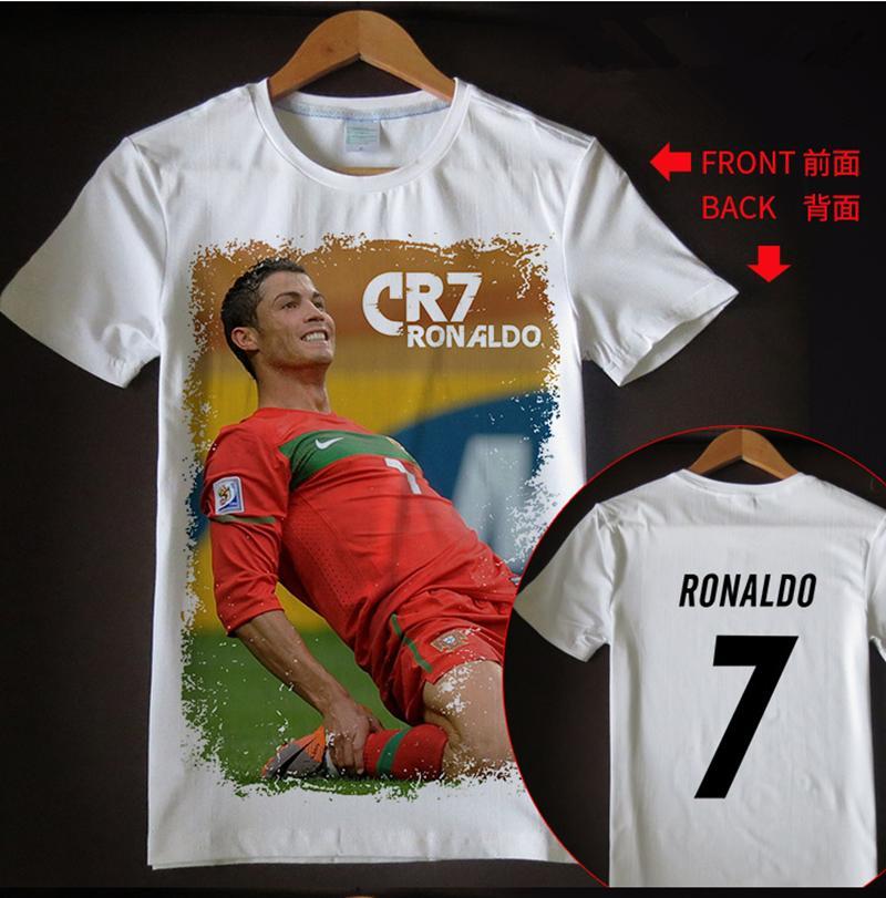 best website 6ebe8 4e6b1 New arrival t shirt men/women Cristiano Ronaldo 3D printed T-shirts casual  Harajuku style summer tops RH37
