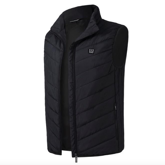 2018 New Men Women Electric Heated Vest Heating Waistcoat Thermal Warm Clothing Feather Hot Sale Winter Jacket