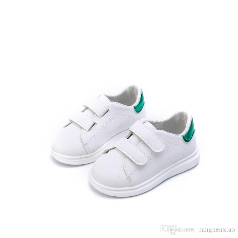 30d35df311ab Toddler Girls Sneakers Shoes Children S White Leather Kids Boys Loafers  Leisure Dance Waterproof Princess Baby Trail Sport Shoes Chaussure Girls  Shoes Kids ...