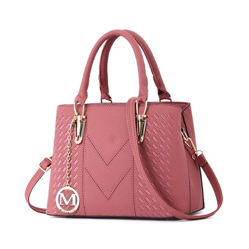 dfc26a7803 Women S Vintage Leather Tote Shoulder Bag For Women Crossbody Bags Ladies  Designer Purse Black Red Grey Khaki Pink Purple Satchel Handbags Ladies  Purses ...