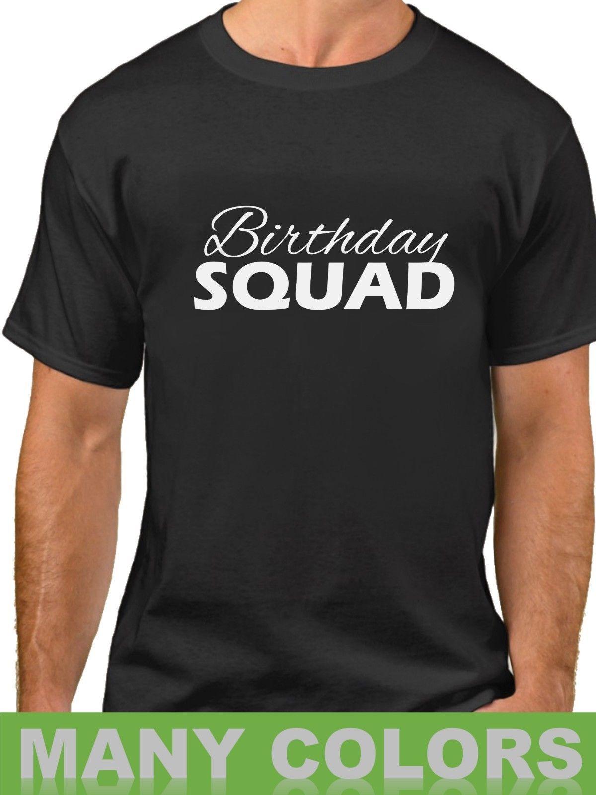 Details Zu Birthday Squad 2 Shirt Bday T