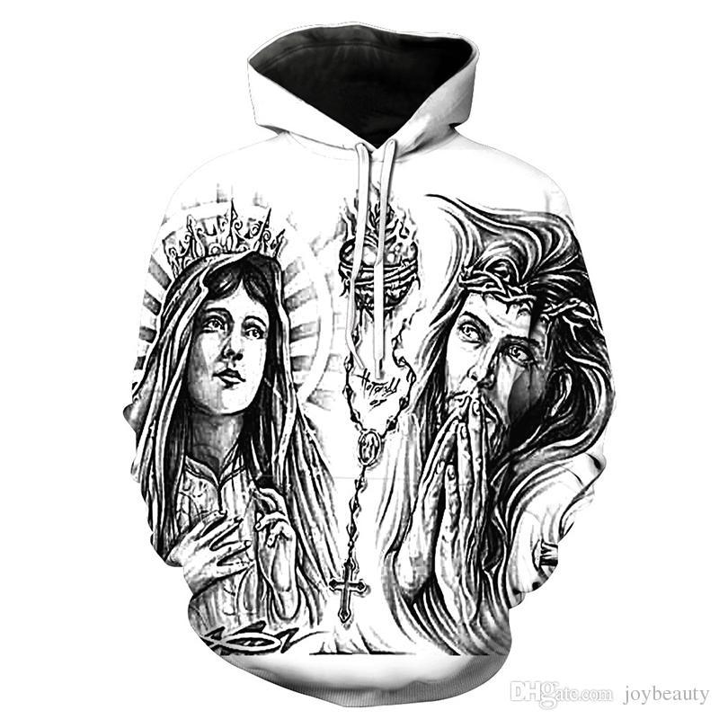 97ce1663 2019 Men Hoodie God Goddess 3D Print Man Hooded Sweatshirt Unisex Casual Pullover  Hoodies Long Sleeves Sweatshirts Digital Graphic Tops RL3663 From ...